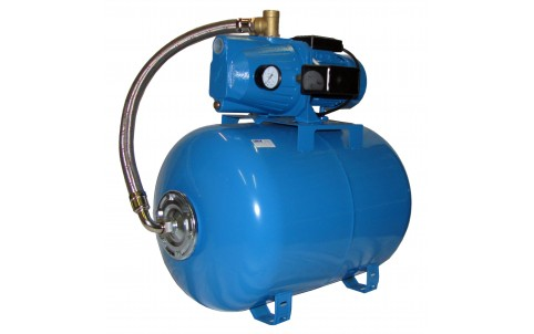 Domácí s čerpadlem PJm100L a 80l tlakovou nádobou