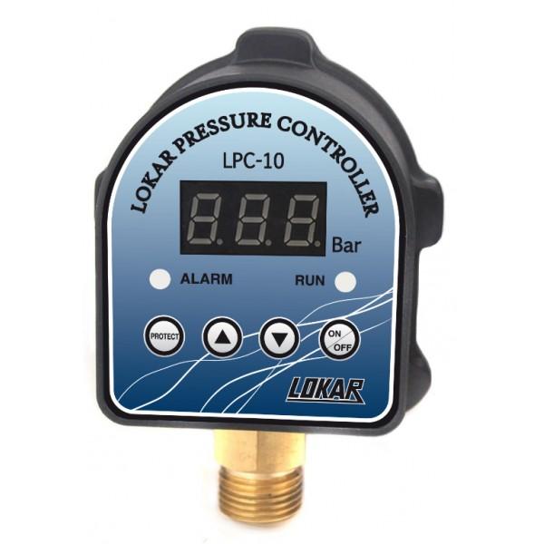 Tlakový spínač na tlakové nádobě bude spínat čerpadlo podle okamžité potřeby.