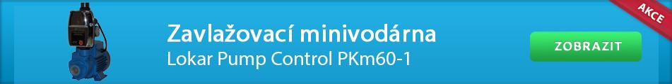 Zavlažovací minivodárna Lokar Pump Control PKm60-1